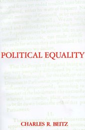 Political Equality - An Essay in Democratic Theory