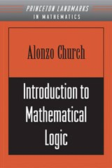Introduction to Mathematical Logic (PMS-13), Volume | Alonzo Church |