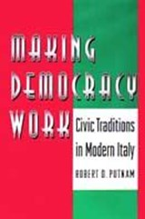Making Democracy Work | Robert D Putnam |