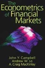 Econometrics of Financial Markets | John W Campbell |