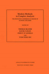 Modern Methods in Complex Analysis (AM-137), Vol - The Princeton Conference in Honor of Gunning and Kohn. (AM-137)