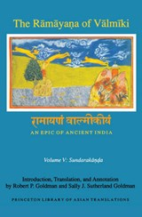 The Ramayana of Valmiki - An Epic of Ancient India Volume V - Sundarakanda | Robert P Goldman |