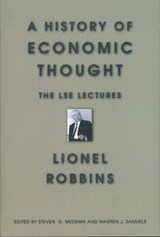 History of Economic Thought | Lionel Robbins |