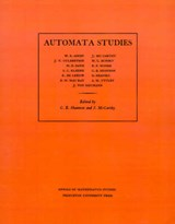 Automata Studies. (AM-34), Volume 34 | C. E. Shannon |