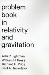 Problem Book in Relativity and Gravitation | Alan P. Lightman |