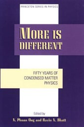 More is Different - Fifty Years of Condensed Matter Physics