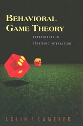Behavioral Game Theory | Colin F. Camerer |