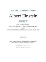The Collected Papers of Albert Einstein, Volume 10 (English) |  |