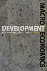 Development Macroeconomics | Agenor |