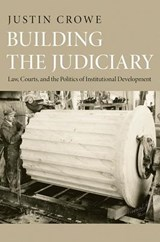 Building the Judiciary - Law, Courts, and the Politics of Institutional Development | Justin Crowe |