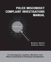Police Misconduct Complaint Investigations Manual