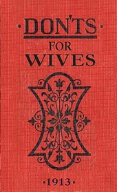 Don'ts for Wives | Blanche Ebbutt |