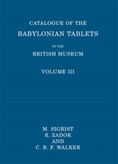 Catalogue of the Babylonian Tablets in the British Museum