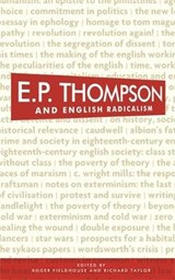 E. P. Thompson and English Radicalism | auteur onbekend |