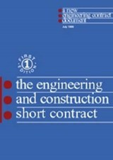New Engineering Contract | Institution Of Civil Engineers |