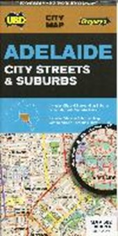 Adelaide City Streets & Suburbs  1 : 100 000 - 1 :