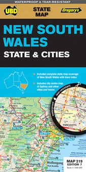 New South Wales State & Cities 1 :