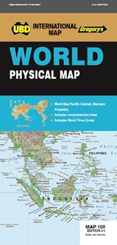 World Physical Map 1 :