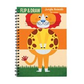 Jungle Animals Flip & Draw