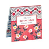 1950s Floral Book of Labels