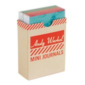 Andy warhol philosophy mini journal set | Andy Warhol |