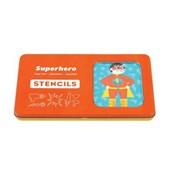 Superhero Starter Stencils