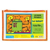 Keith haring dj robot pouch puzzle :