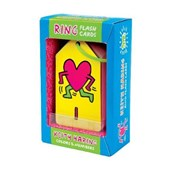 Keith haring colors & numbers ring flash cards
