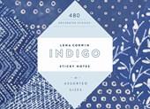 Indigo sticky notes