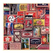 Vintage matchboxes: 500 piece puzzle