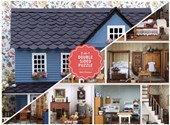 Vintage dollhouse 2-sided: 500 piece puzzle |  |