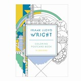 Frank lloyd wright 16 coloring postcards | auteur onbekend |