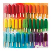 Rainbow popsicles 500 piece puzzle | Julie Seabrook Ream |