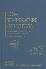 Low Temperature Detectors |  |