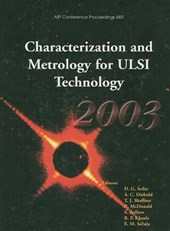 Characterization and Metrology for ULSI Technology |  |