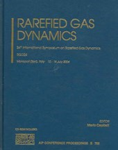 Rarefied Gas Dynamics |  |