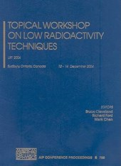 Topical Workshop on Low Radioactivity Techniques