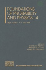 Foundations of Probability and Physics, Volume |  |