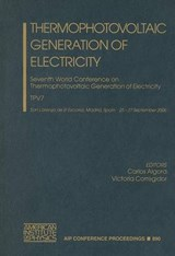 Thermophotovoltaic Generation of Electricity |  |