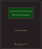 Corporate Counselor's Business Handbook
