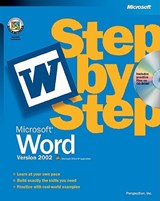 Microsoft Word Version 2002 Step by Step | . Microsoft |