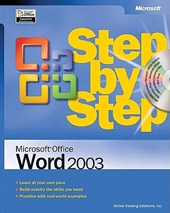 Microsoft Office Word 2003 Step by Step | Microsoft |