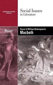 Power in William Shakespeare's Macbeth