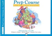Alfred's Basic Piano Library Prep Course, Christmas Joy, Level B