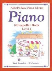Piano Notespeller Book Level