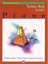 Alfred's Basic Piano Library Technic Book | Amanda Vick Lethco |
