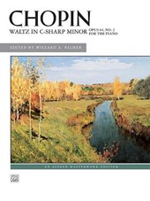 Waltz in C-Sharp Minor, Opus 64, No. 2 For the Piano