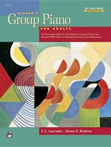Alfred's Group Piano for Adults | Lancaster, E. L. ; Renfrow, Kenon D. |