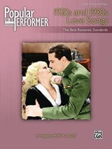 Popular Performer -- 1920s and 1930s Love Songs | auteur onbekend |