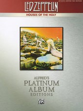 Led Zeppelin V Houses of the Holy Platinum Guitar
